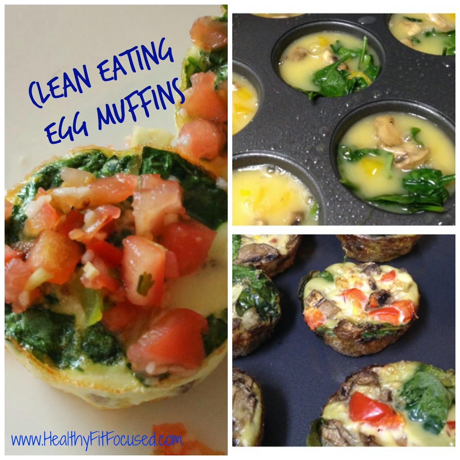 Egg Muffins, www.HealthyFitFocused.com