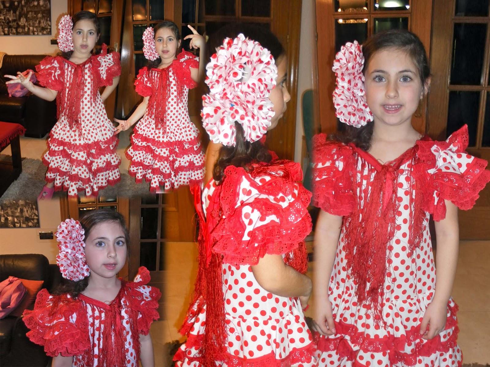 Solo yo: Disfraz de Sevillana para Carnaval 2013. Vestido de Flamenca.