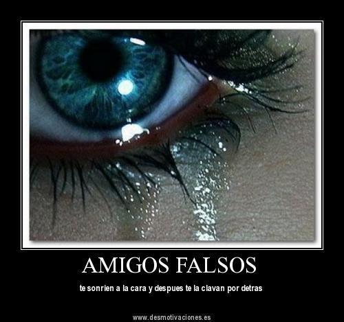 Frases para gente falsa » Gente Falsa - Frases y Curiosidades