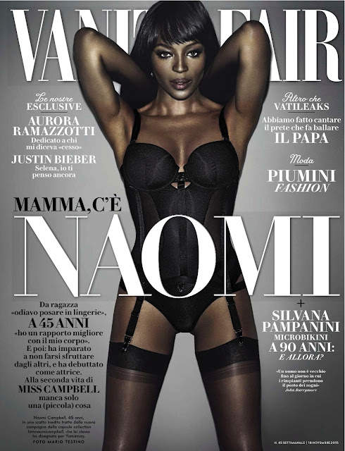 Actress, Singer, Model @ Naomi Campbell - Vanity Fair Italia, November 2015