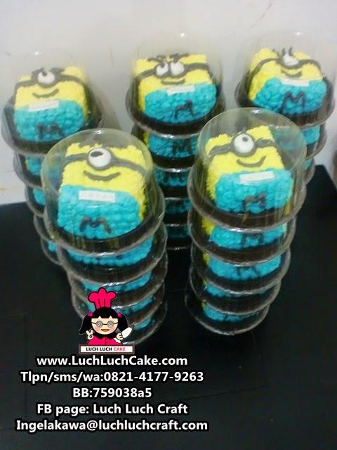 Mini Cake Minion Daerah Surabaya - Sidoarjo (Repeat Order)