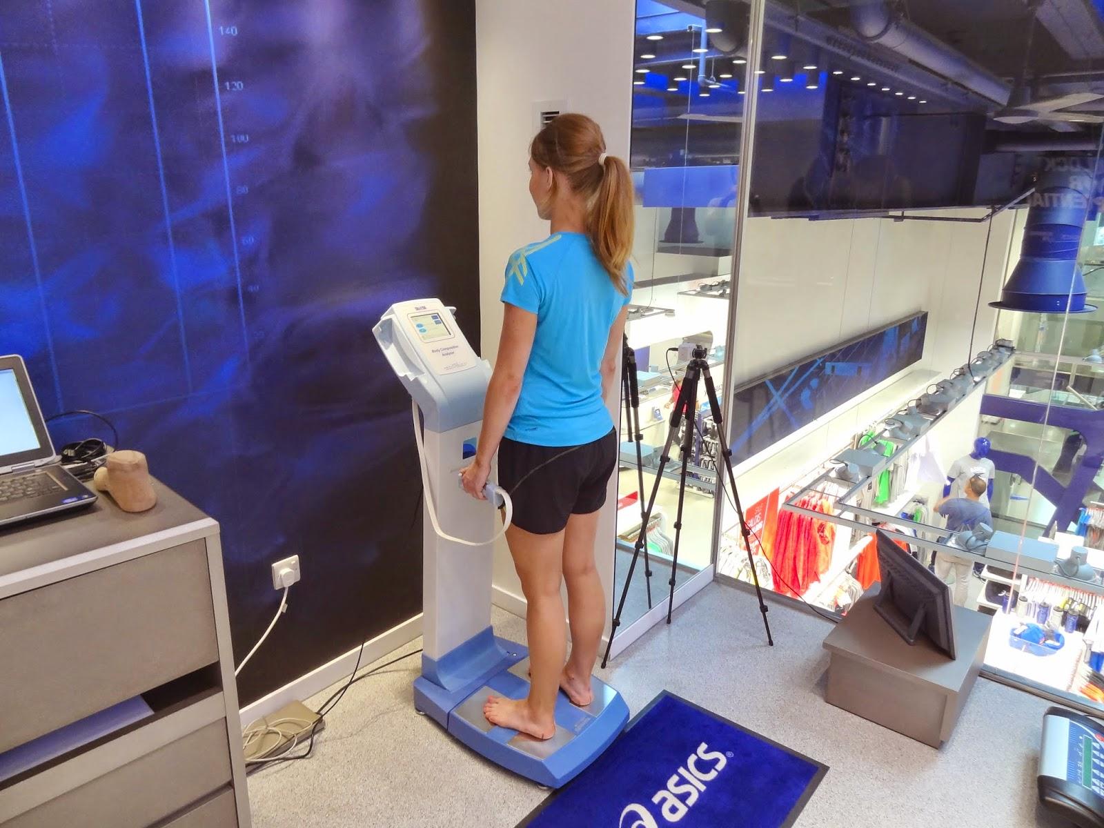 Asics Running Lab Body Composition Tanita