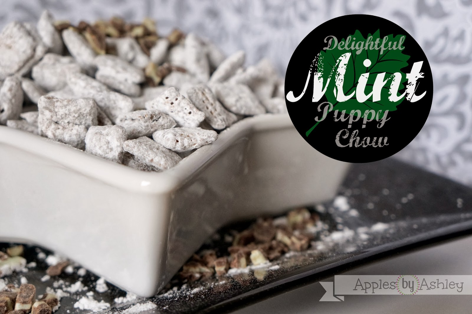 Delightful Mint Muddy Buddies