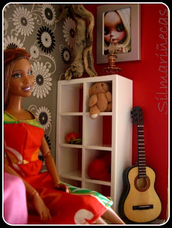 armario expedit huset ikea+barbie-