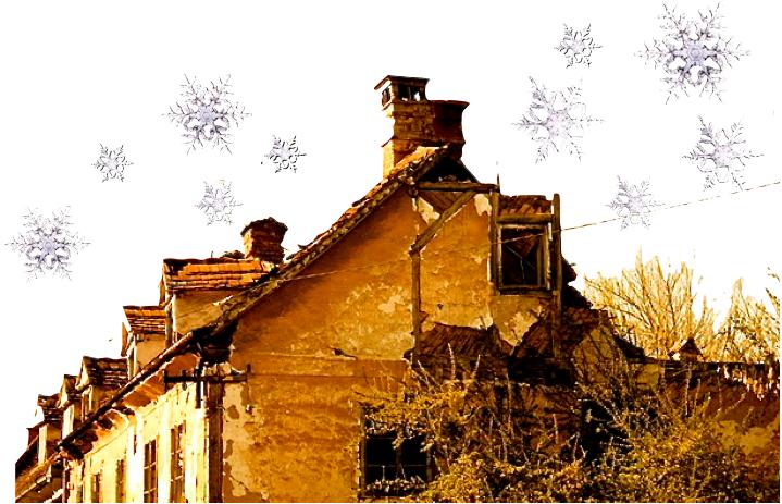 christmas in a house in karlovac croatia