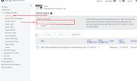 Cara Submit Sitemap dan Peta Situs Webmaster Bing dan Webmaster Tools