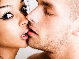 Техника французский поцелуй