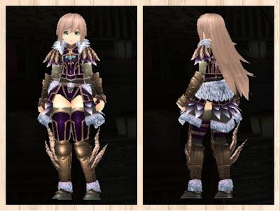 森狼の衣・紫色1