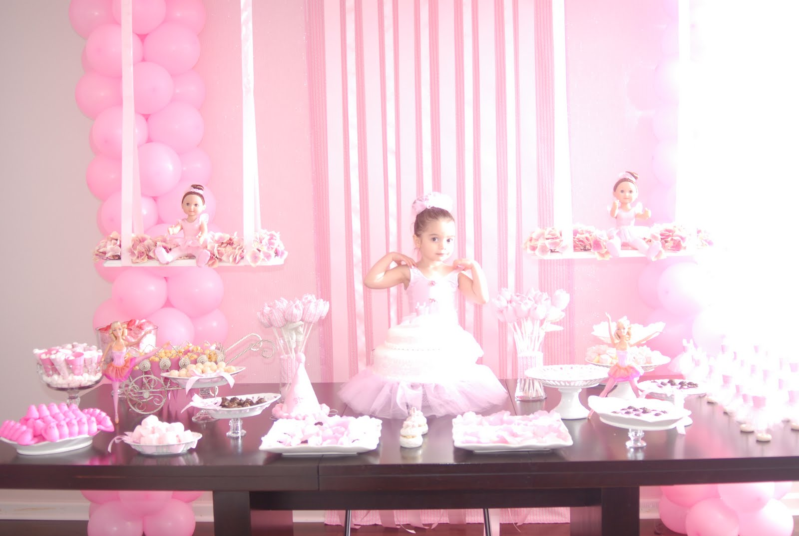 Gifts and co ballerina party for Ballerina party decoration