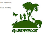 GREENPEACE (pelo ambiente no mundo, for environment worldwide)