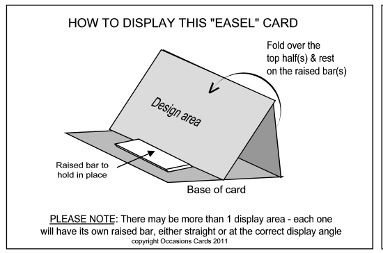 how to make an easel instructions