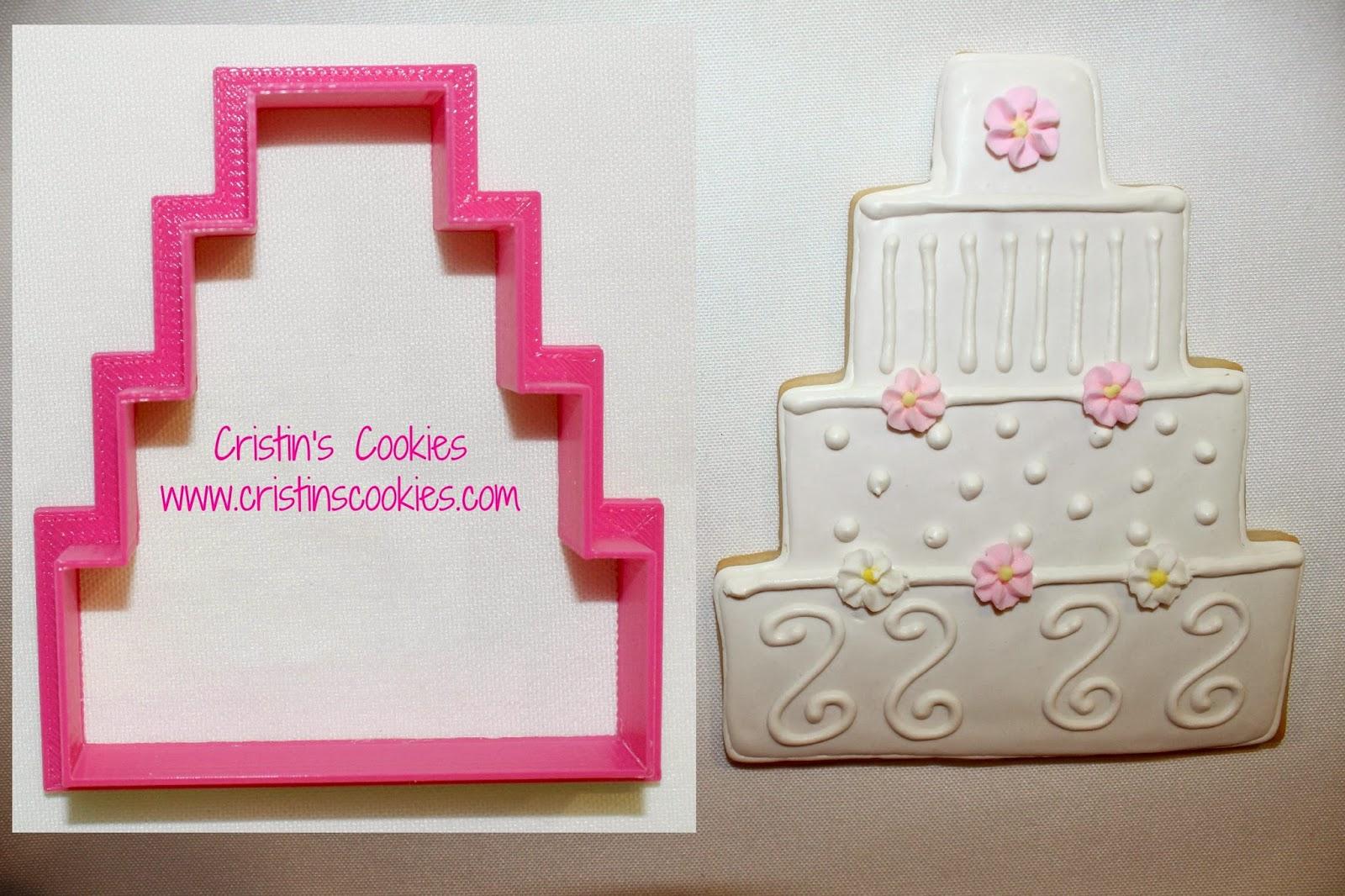 She Said Yes. I Had A Customer Ask For Wedding Cake Cookies.