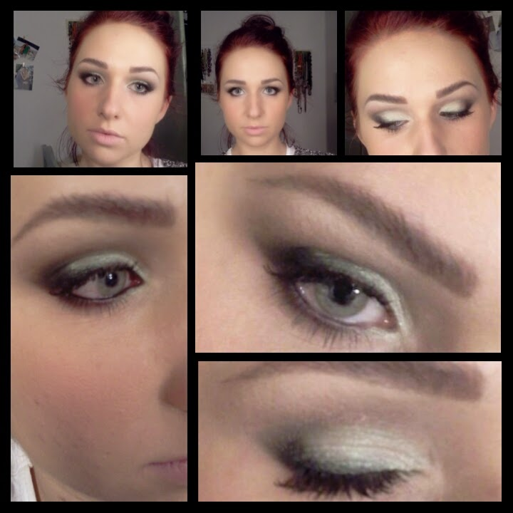 immagine black/white make up