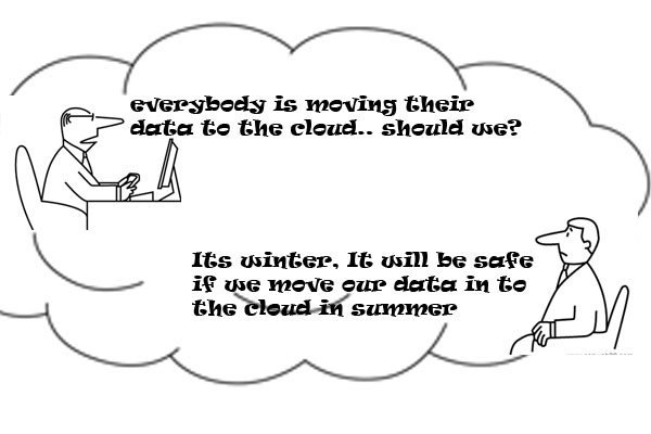 cloud humour in IT industry