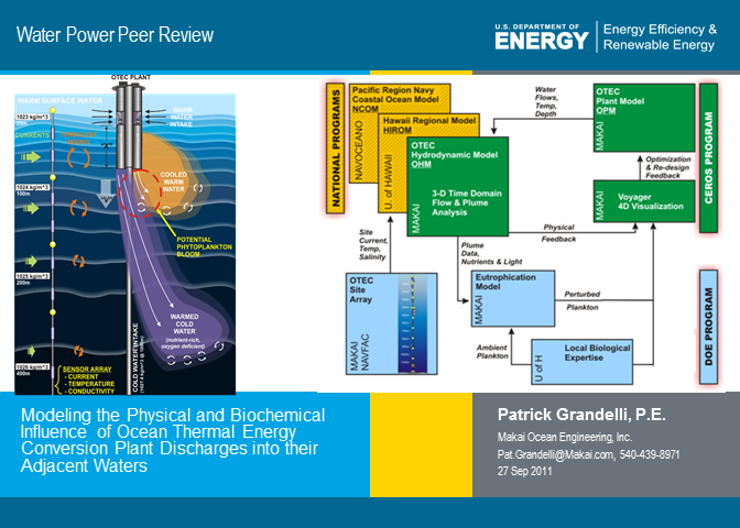 renewable energy from the ocean a guide to otec