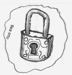padlock graphic