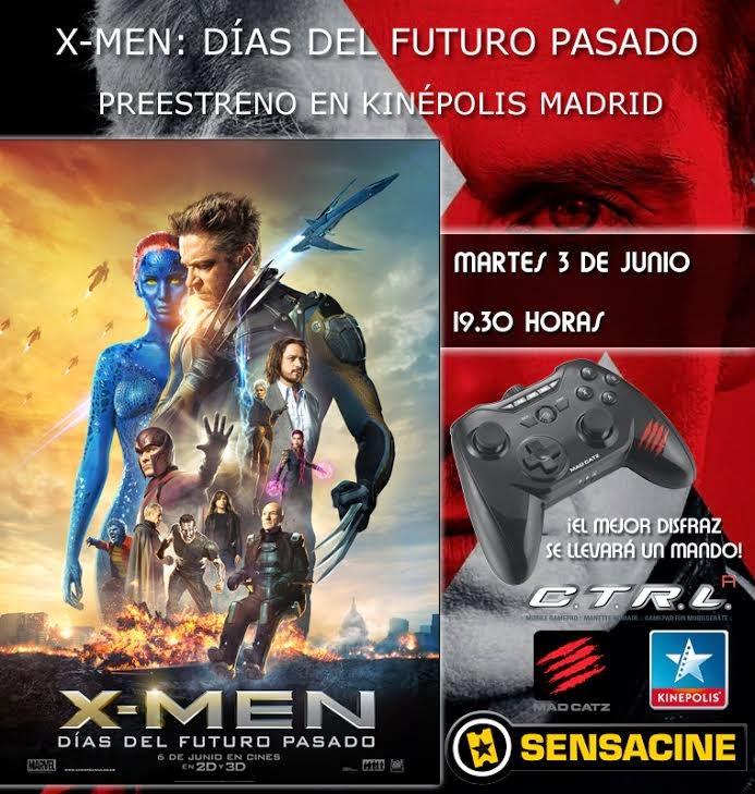 Sensacine te invita al preestreno de X-Men: Días del futuro Pasado