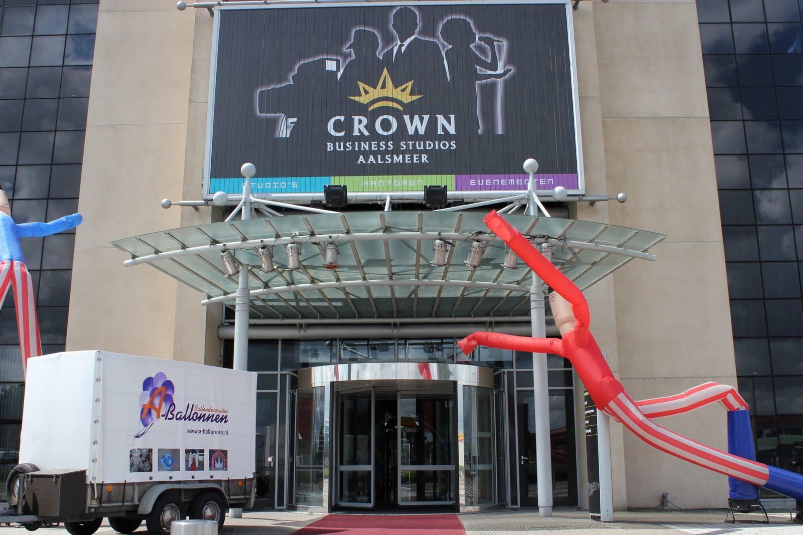 A ballonnen ballonnen decoraties crown studio aalsmeer tv