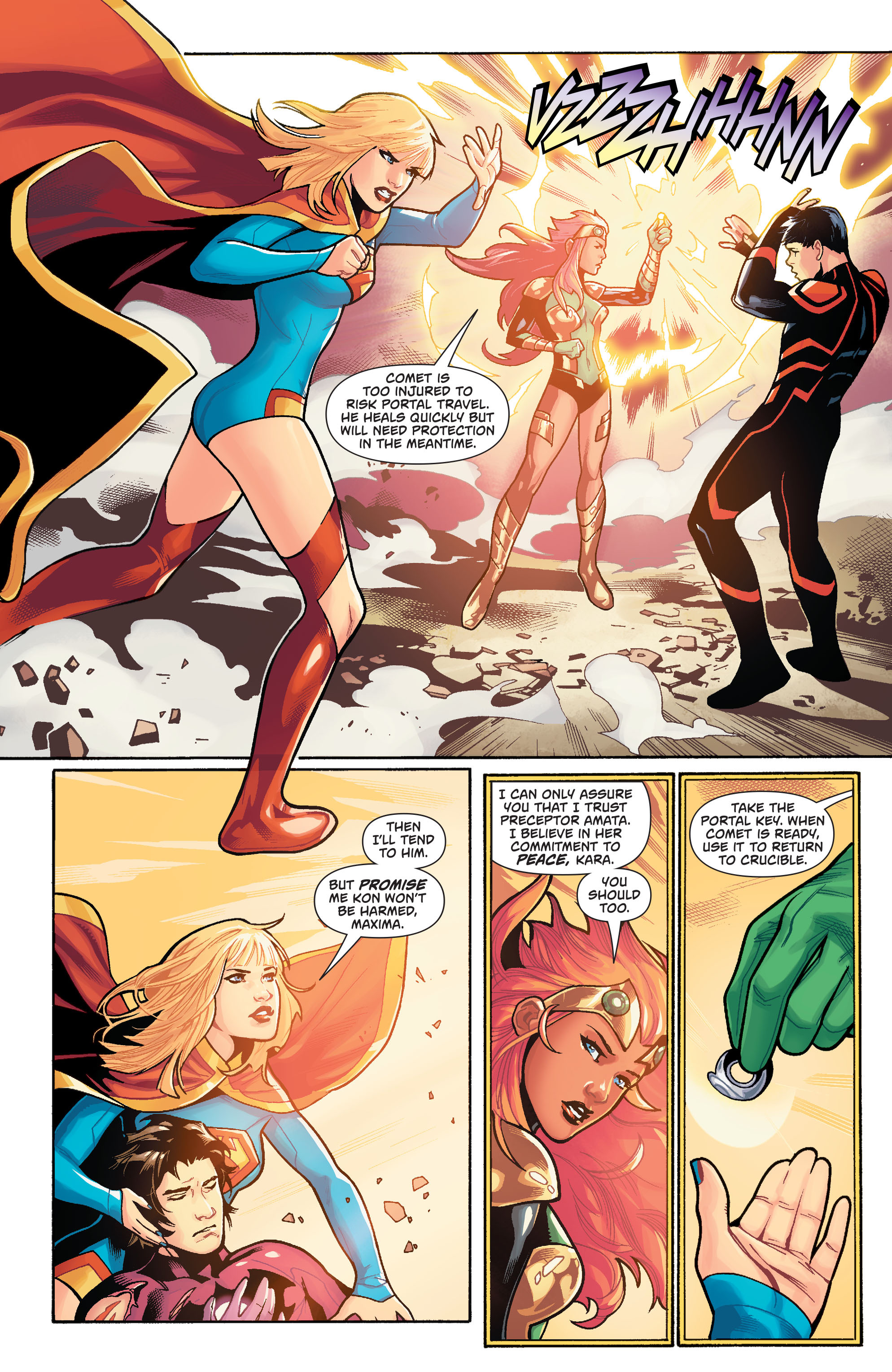 Supergirl (2011) Issue #39 #41 - English 5