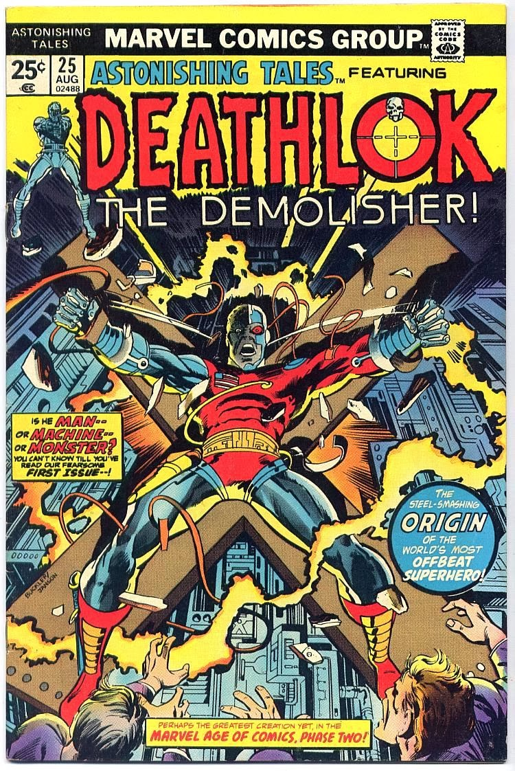 Deathlok 1st appearance