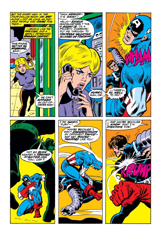 Captain America (1968) Issue #153 #67 - English 7