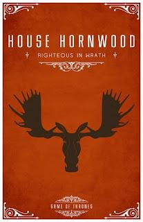 emblema casa Hornwood - Juego de Tronos en los siete reinos