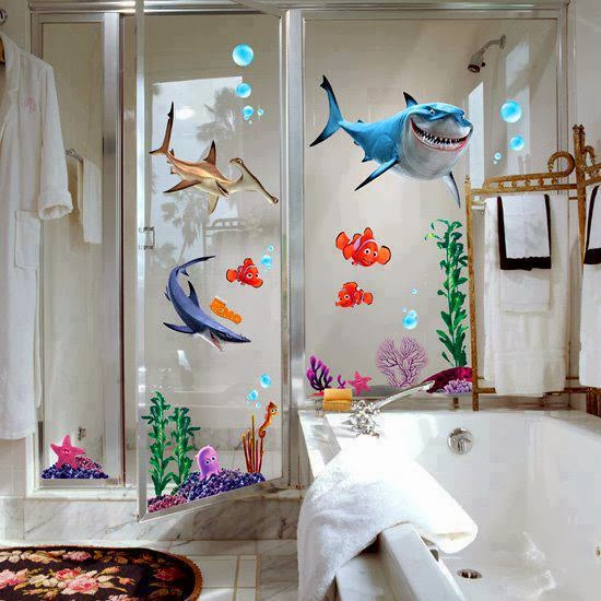 Shark Tales Themed Bathroom
