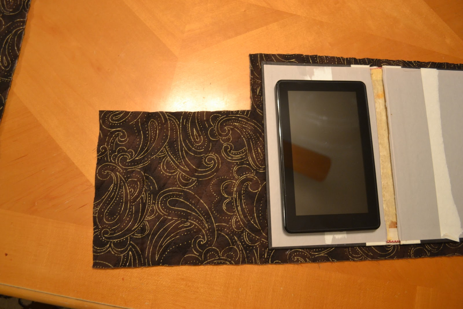 How To Make A Book Cover For Kindle ~ Kindle cover from a hardcover book handy diy