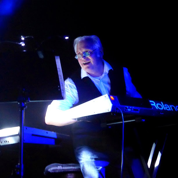 Johannes Schmoelling : Jerome Froese live @ Electronic Circus 2014 / photo S. Mazars