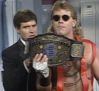 WWF (WWE) SURVIVOR SERIES 1992 - INTERCONTINENTAL CHAMPION SHAWN MICHAELS