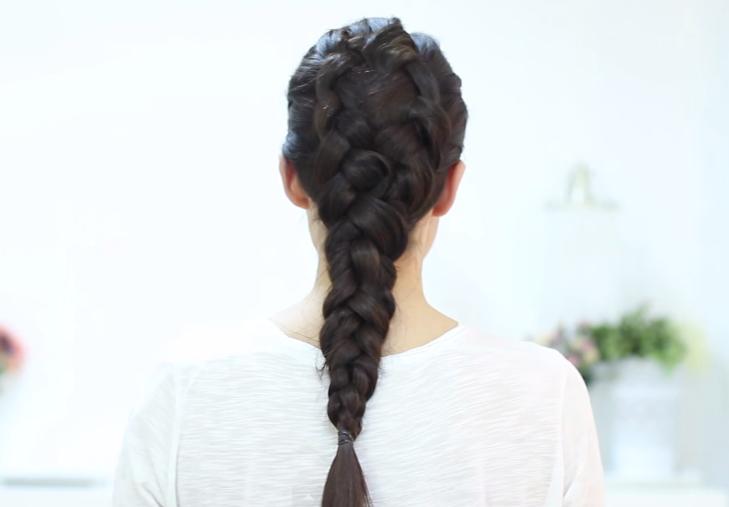 Como Realizar Peinados Con Trenzas - Peinado Trenza de Cascada Doble Trenza Chikas Chic