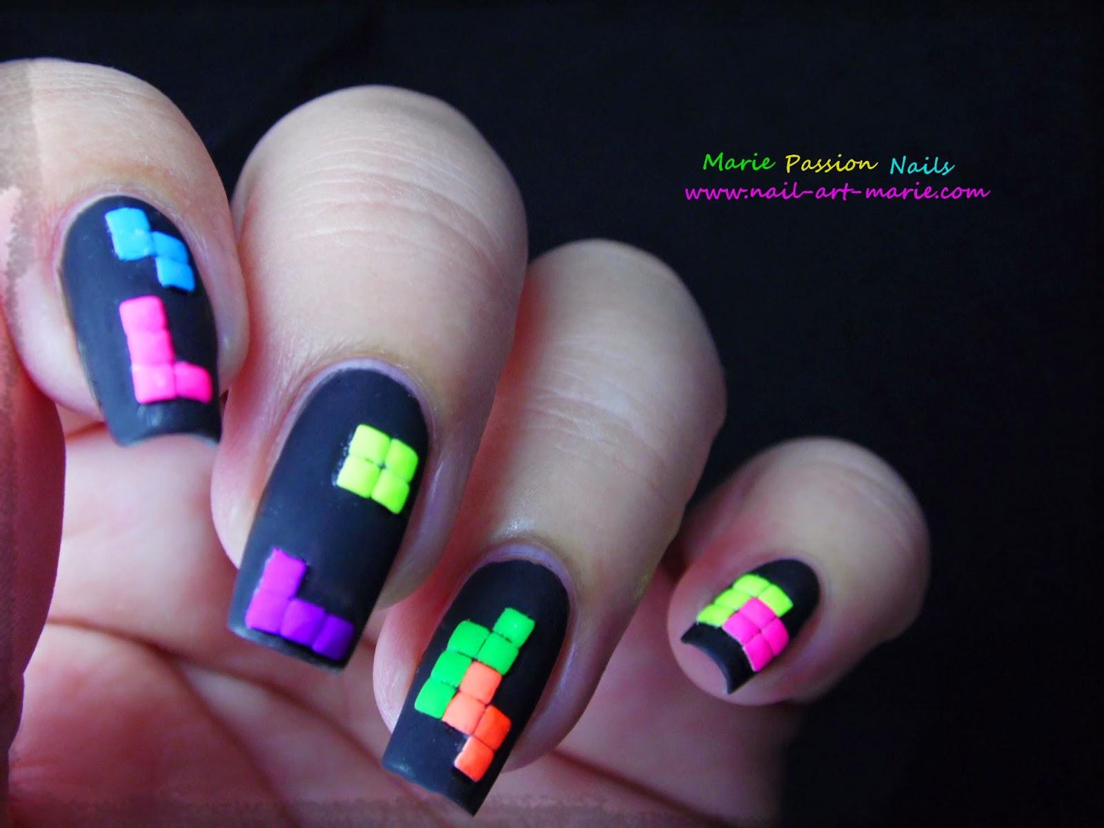 nail art tétris5