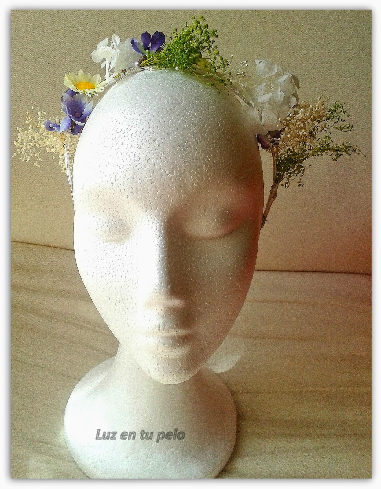 diadema de flores barata, diademas de comunión, diademas baratas, diademas para niñas, diademas para niñasde boda, diademas online, diademas económicas