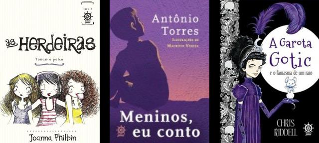 Lançamento de Livros - Julho / Editora Galera Record