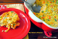 Corn and Green Chilis Casserole