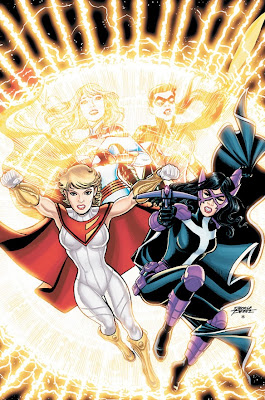 Power Girl and the Huntress in World's Finest