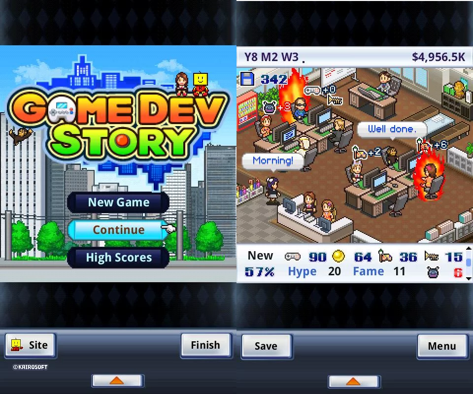 Game Dev Story v1.1.9 Apk Android