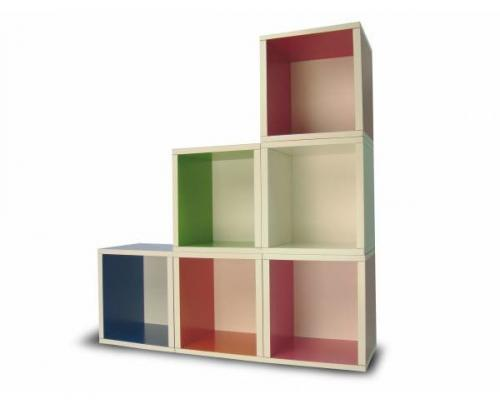 I d e a crea tus propios muebles modulares con way basic - Muebles estanterias modulares ...