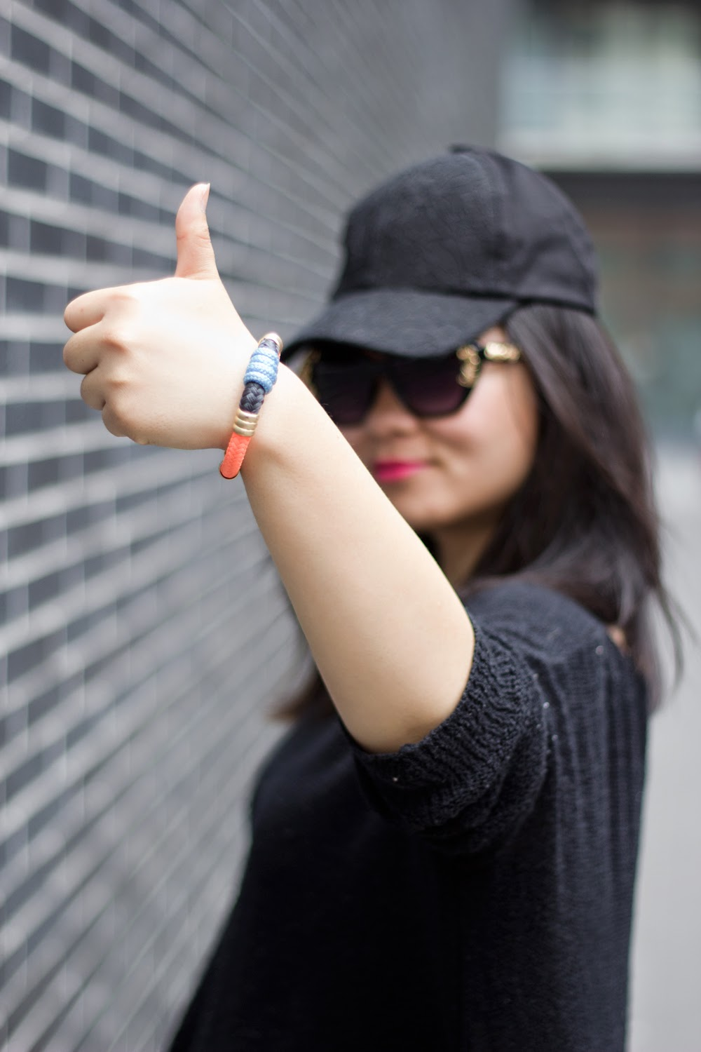 Smart-Set-Black-Baseball-Cap, Fashion-Blogger