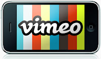 Vimeo on iPhone image