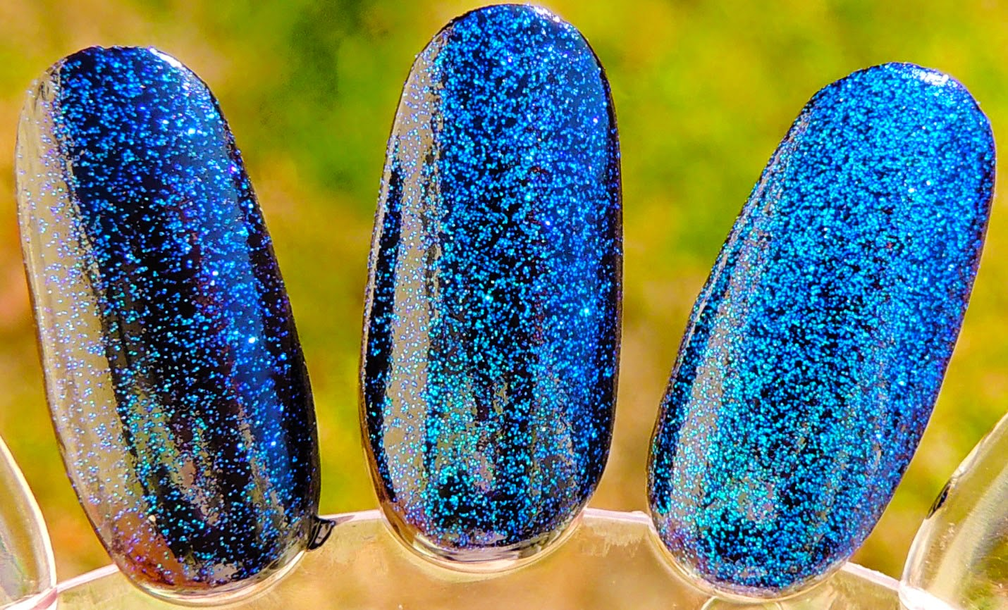 SUN DAZZLER GLAZE Nail Polish A MICRO COLOR CHANGING FLAKE By Glitter Lambs