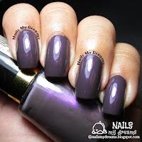 revlon naughty perplex swatch nail polish