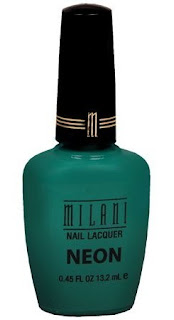 Polished: Milani Fresh Teal