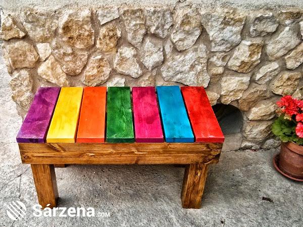 Hacer banco madera for Bricolaje y jardin