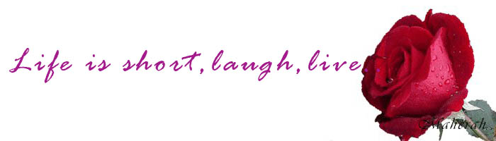 Life is short,laugh,live