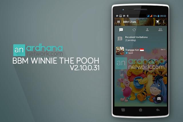 BBM Winnie The pooh