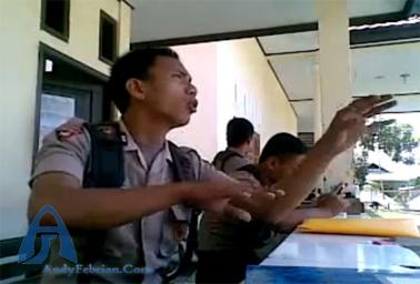 Polisi Gorontalo menggila