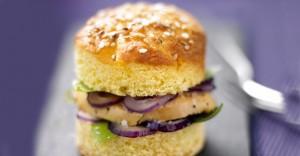 Burger au foie gras du sud ouest