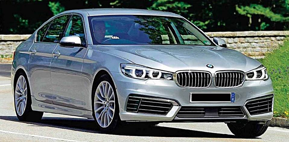 2017 bmw 5 series rendering auto bmw review. Black Bedroom Furniture Sets. Home Design Ideas