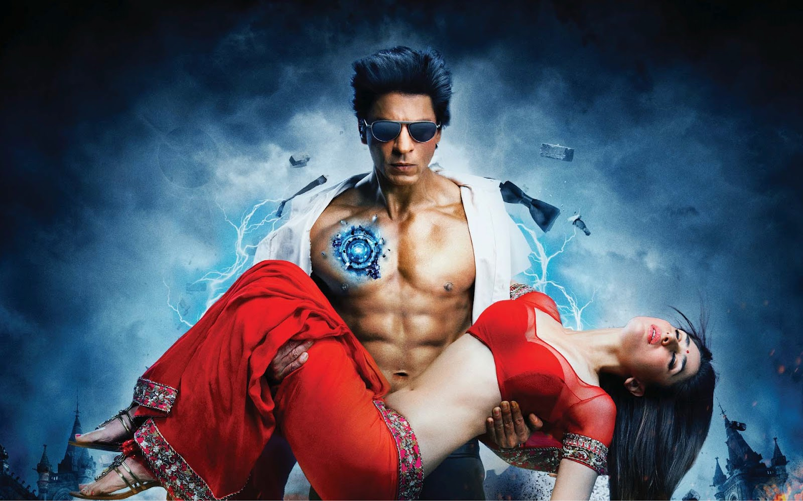 ice-wallpaper: Ra.one wallpaper full hd part - SHAHRUKH KHAN SRK